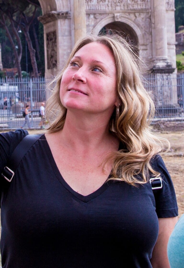 Angela Culotti - Roman Vacations manager, photographer, tour guide, and author