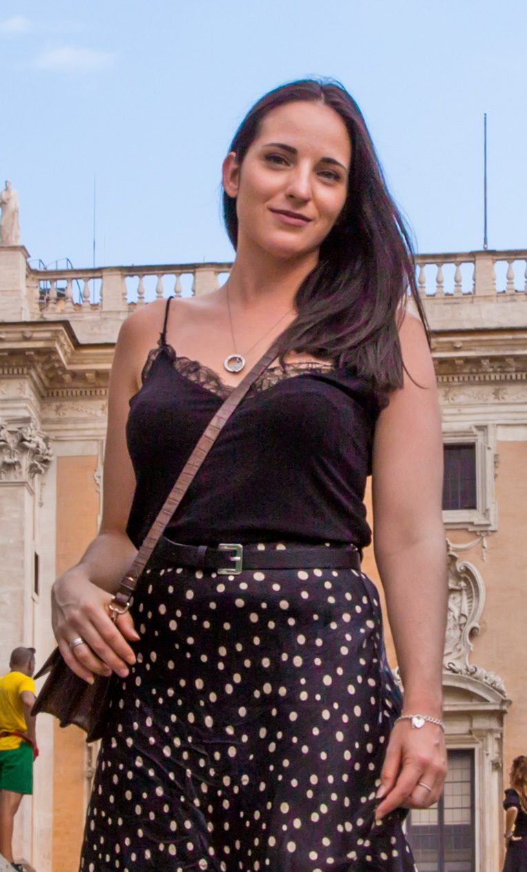 Gianna Franzolini - Roman Vacations manager, social media director and author