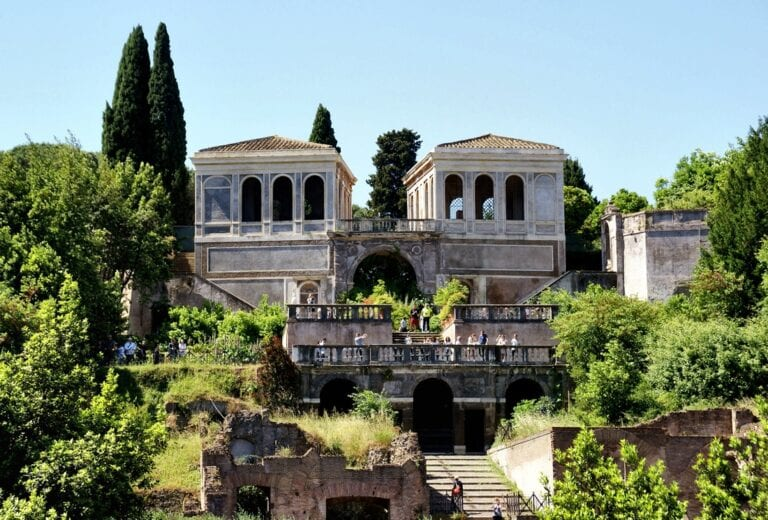 Best Views in Rome - Farnese Terrace in Roman Forum and Palatine Hill