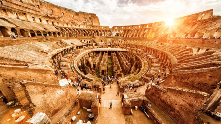 Private Colosseum and Ancient Rome Tour - Colosseum inside - underground