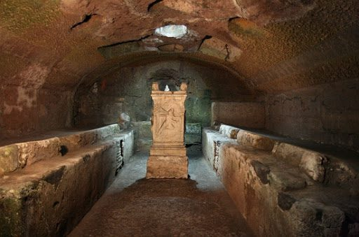 Catacombs and Crypts - San Clemente