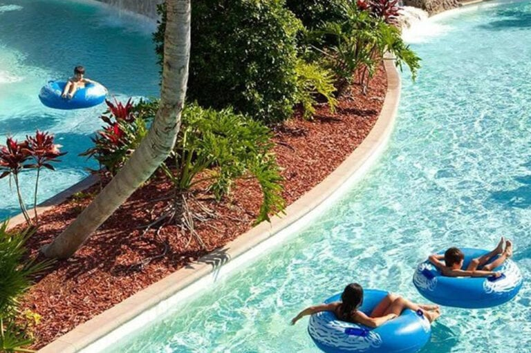 Cinecitta World - lazy river - water rides