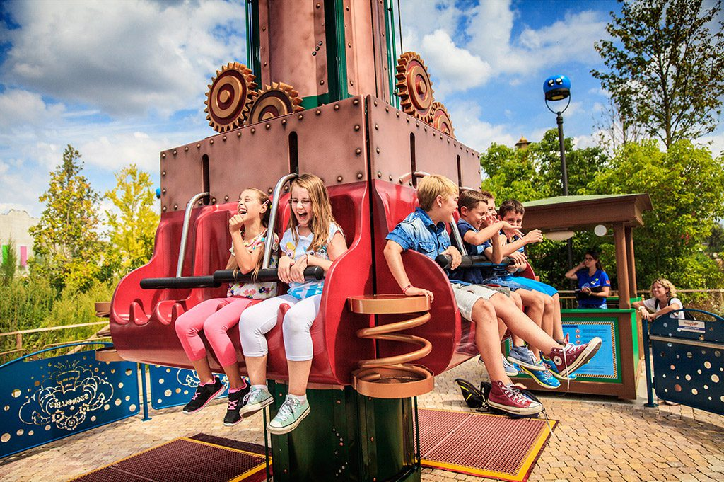 Cinecitta World near Rome - rides for kids