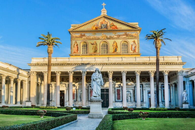 Major Basilicas in Rome - Ancient Jubilee - Saint Paul Outside the Walls