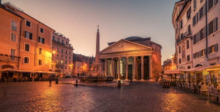 Ancient Sites in Ancient Rome - Pantheon Rome