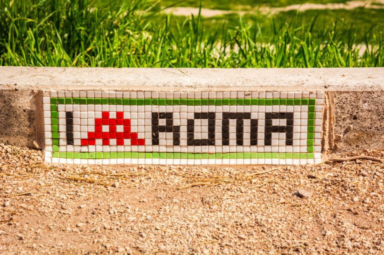Invader from Space - Invader in Rome